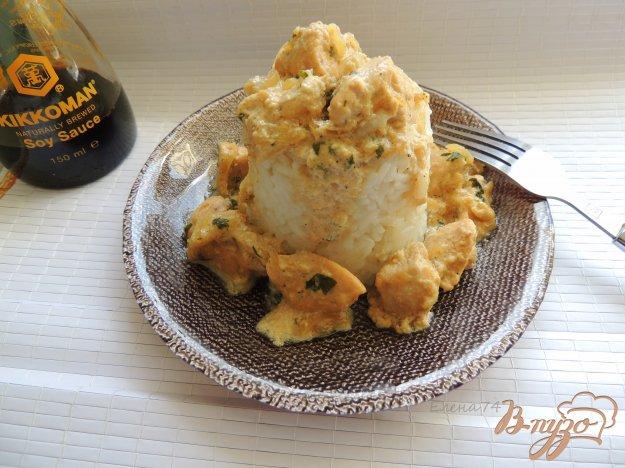 фото рецепта: Куриное филе с соусом