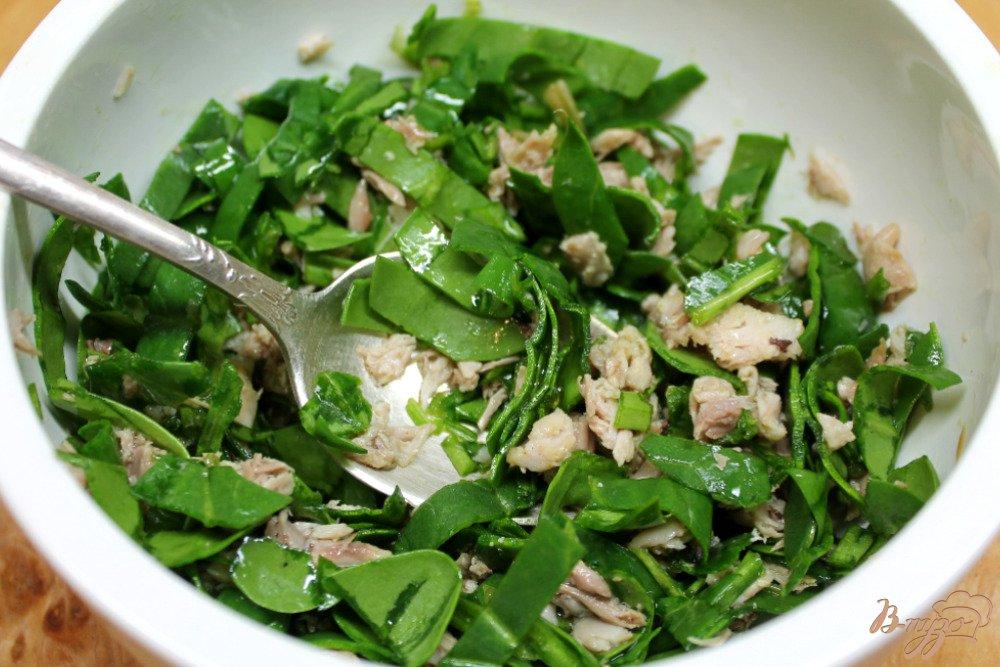 Салат с мяса перепелки