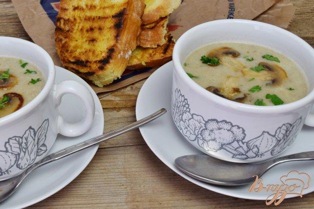 фото рецепта: Грибной суп- пюре
