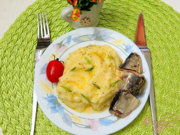 фото рецепта: Картофельное пюре со сливками