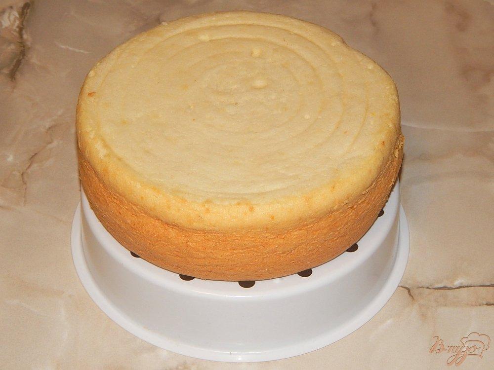 Классический шифоновый бисквит рецепт с фото пошагово