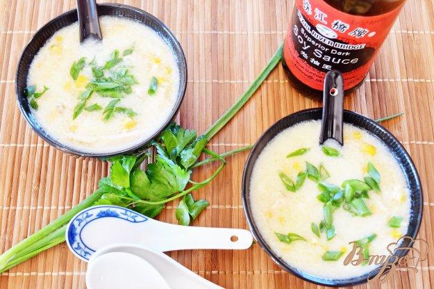 фото рецепта: Китайский кукурузный суп