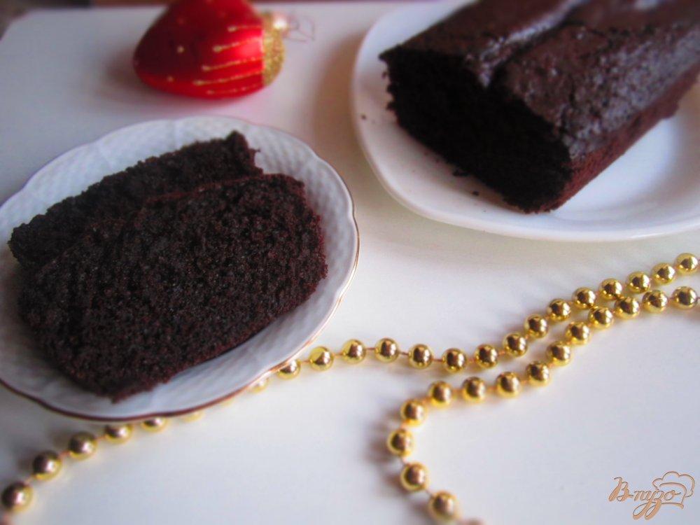 Шоколадный кекс на кефире рецепт с пошагово