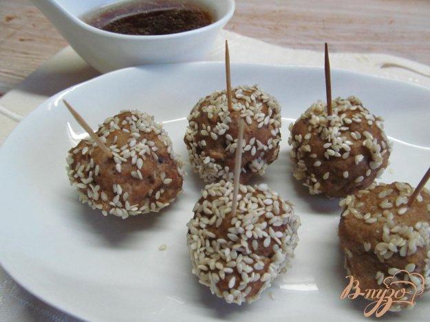 фото рецепта: Азиатские фрикадельки
