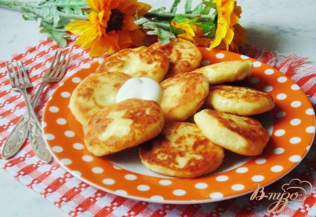 фото рецепта: Сырники с ванилью