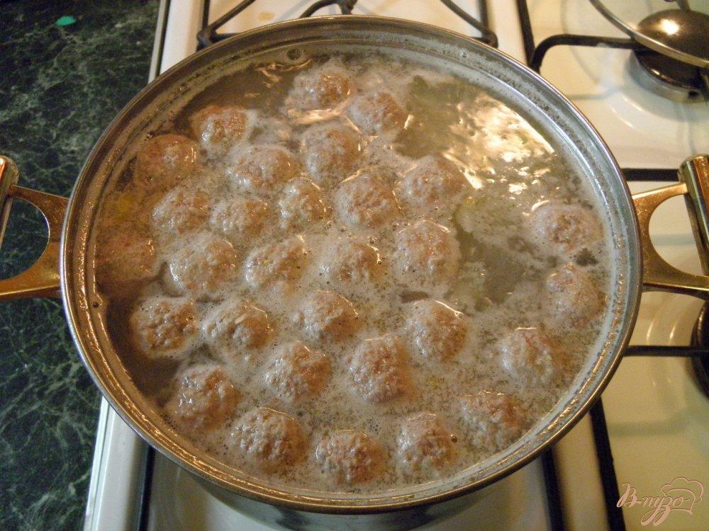 Суп с фрикадельками и манкой рецепт