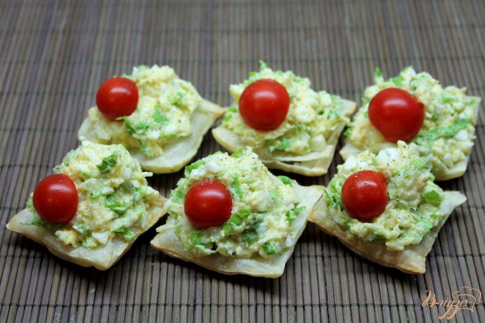 закуски с пошаговым фото