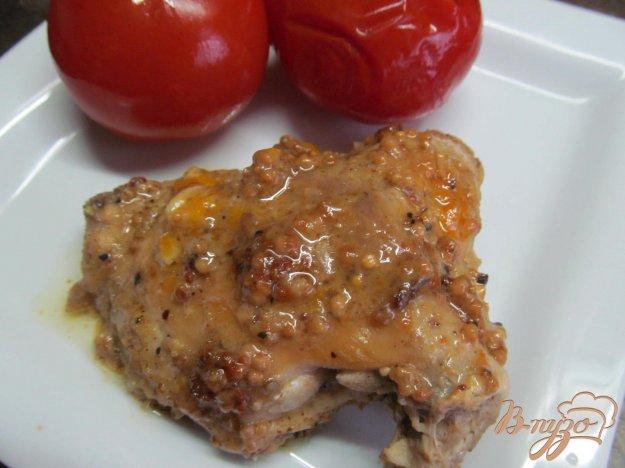 фото рецепта: Куриные бедра в горчичном соусе