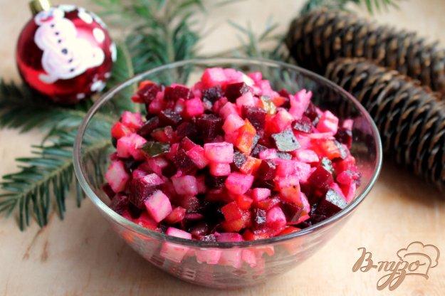 фото рецепта: Винегрет из печеных овощей