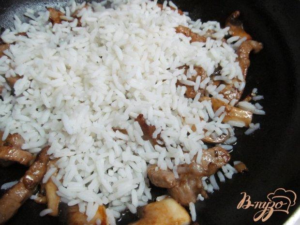 Рис со свининой рецепт с фото пошагово