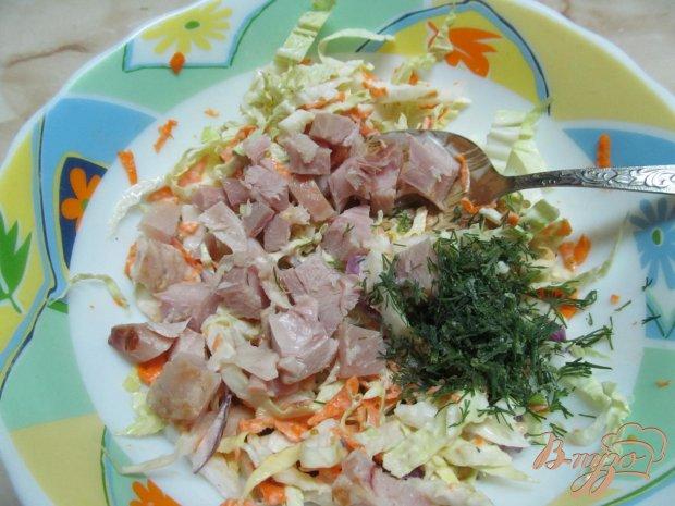 лапша удон с копченой курицей рецепт