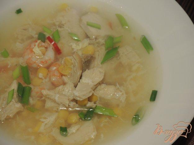 фото рецепта: Китайский суп Три свежести