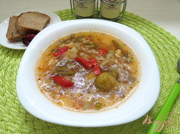 фото рецепта: Суп овощной постный