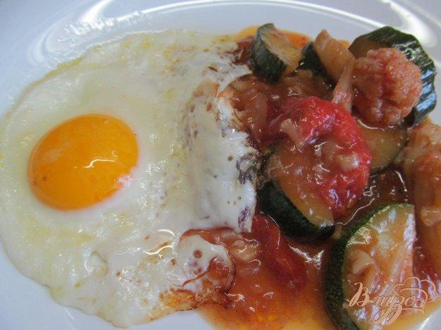 фото рецепта: Быстрый завтрак из замороженных овощей