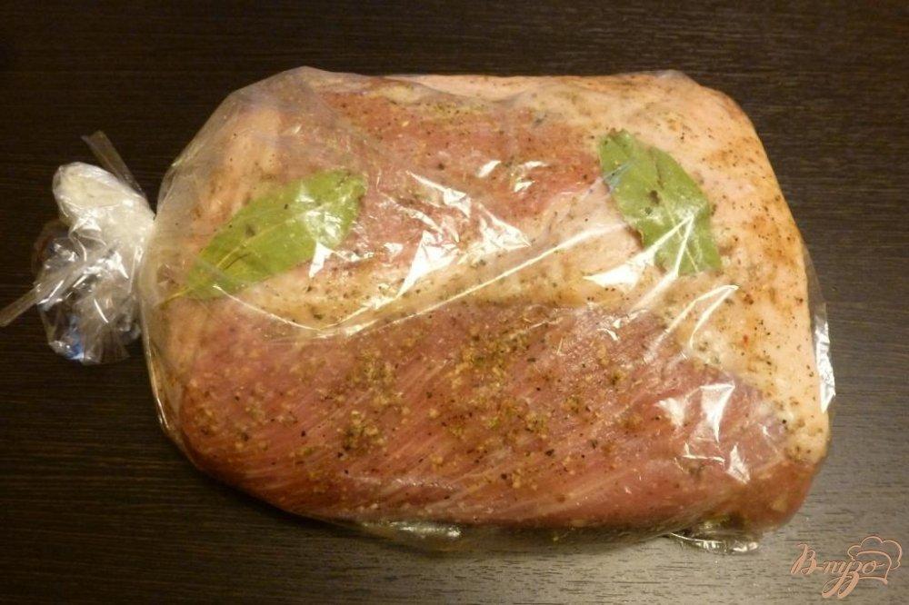 Буженина из свинины в рукаве в мультиварке рецепт с фото