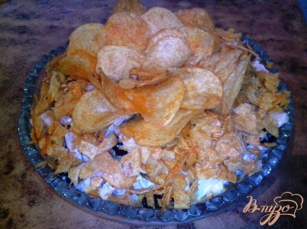 фото рецепта: Салат с чипсами