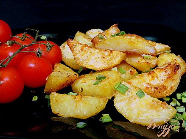 фото рецепта: Картофель запеченный с паприкой