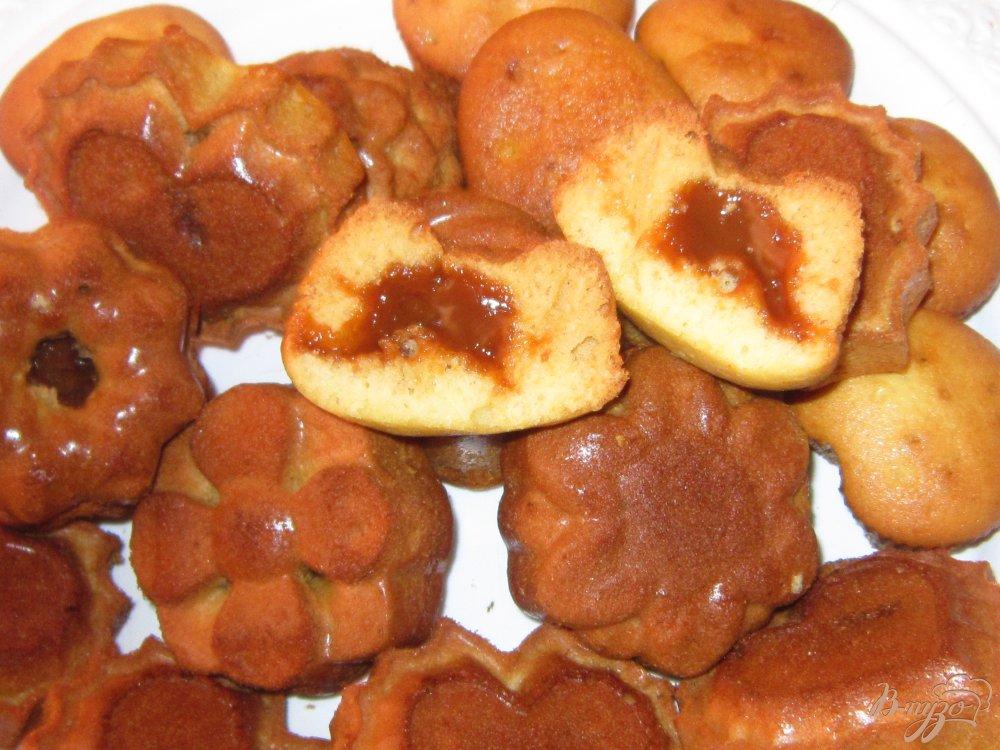Маффины с варёной сгущёнкой рецепт с фото пошагово