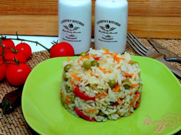 фото рецепта: Рис с горошком