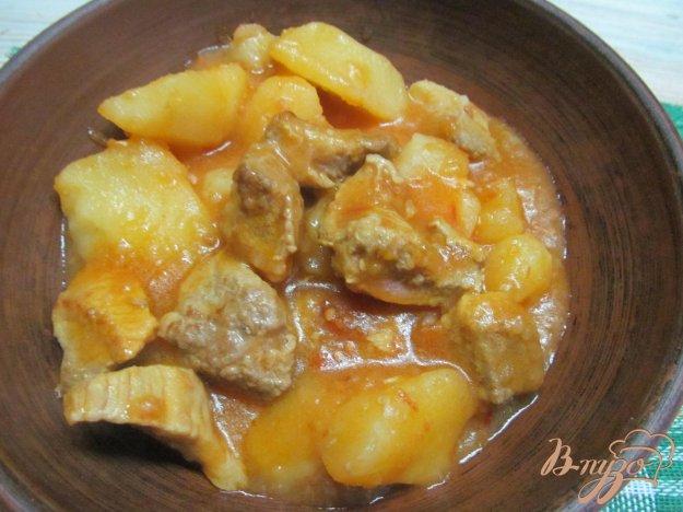 Соус из свинины с картошкой рецепт пошагово