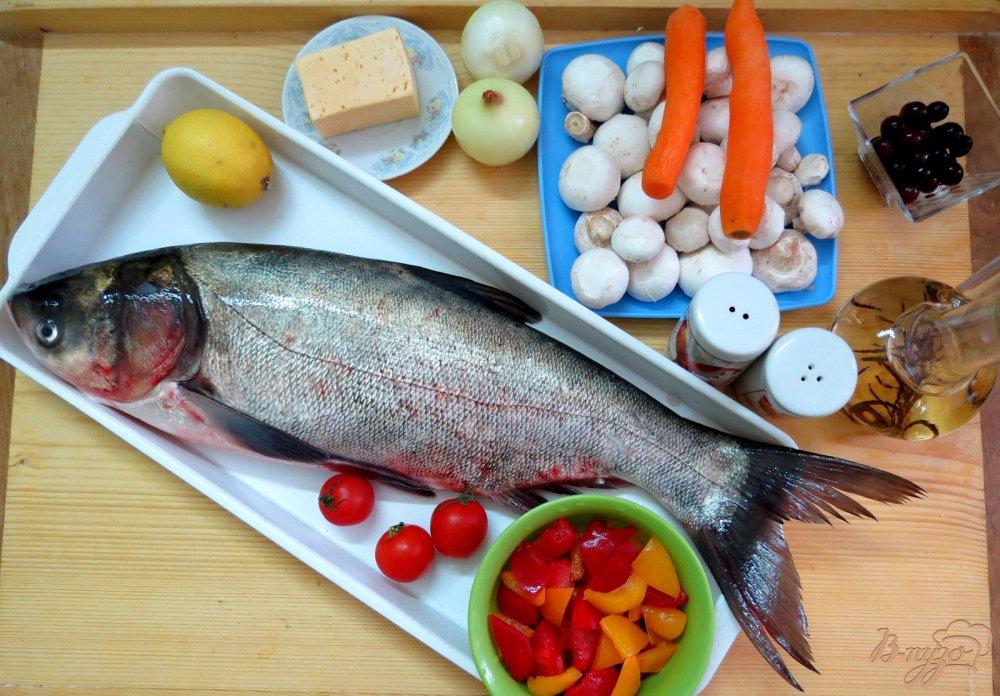 Фаршированный толстолобик пошаговый фото рецепт