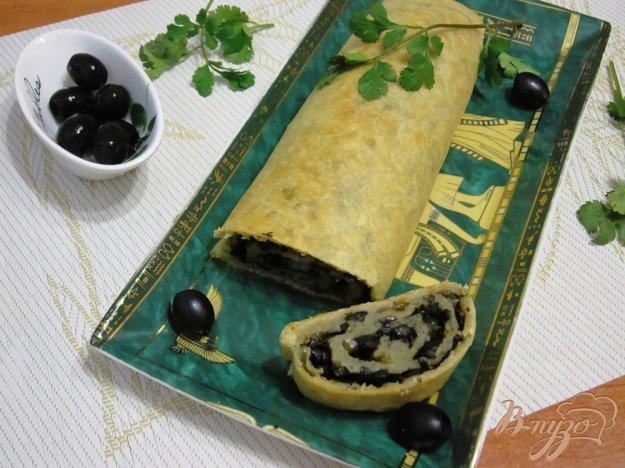 фото рецепта: Рулет с маслинами