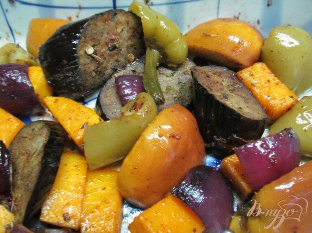 фото рецепта: Запеченные овощи в специях