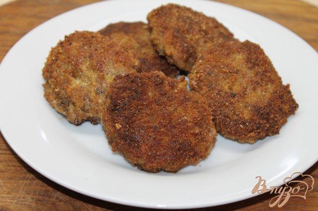 фото рецепта: Котлетки из свинины и шампиньонов