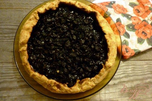 фото рецепта: Творожная галета с черникой