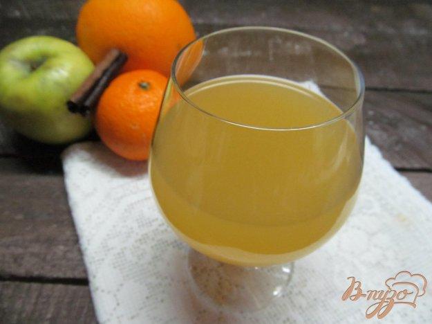 фото рецепта: Ликер из апельсина и яблока