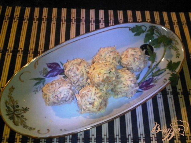 фото рецепта: Закусочные шарики с сардиной