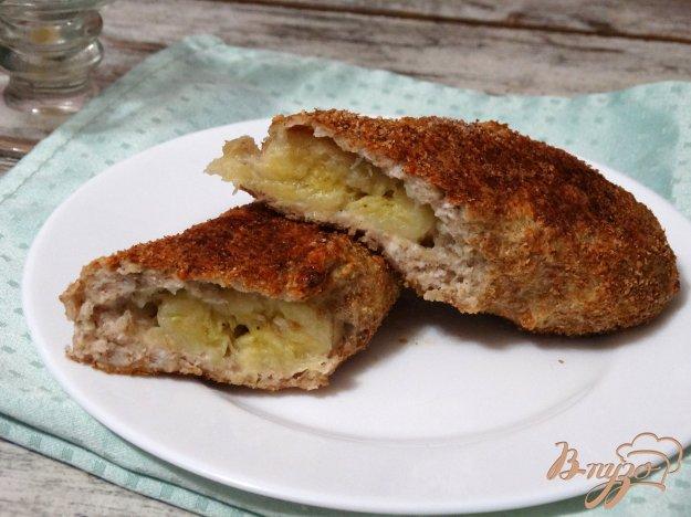 фото рецепта: Фитнесс-десерт: банан в творожно-овсяной шубе