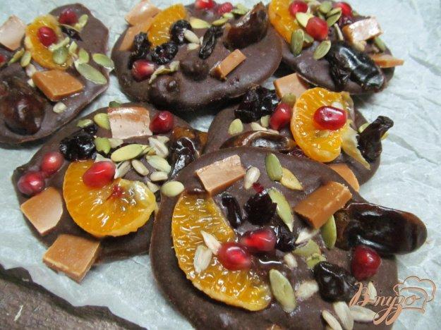 фото рецепта: Шоколадные батончики с начинкой