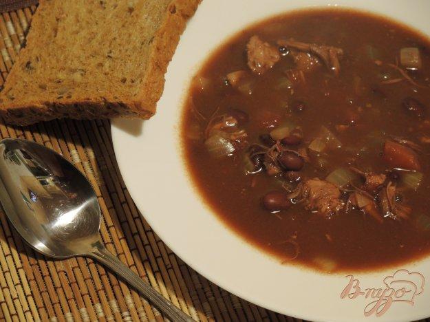 фото рецепта: Суп с курицей и фасолью