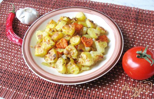 фото рецепта: Запечёный картофель ко дню Святого Валентина