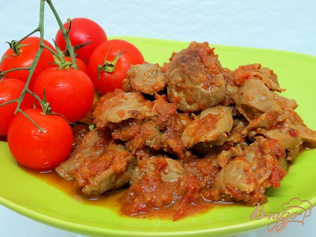Рецепт вкусных куриных желудков с фото