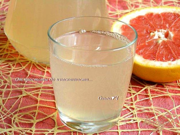 фото рецепта: Лимонад с грейпфрутом