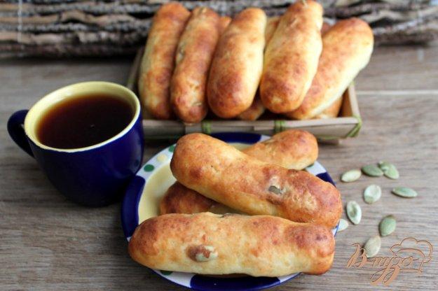 фото рецепта: Творожные палочки с семечками