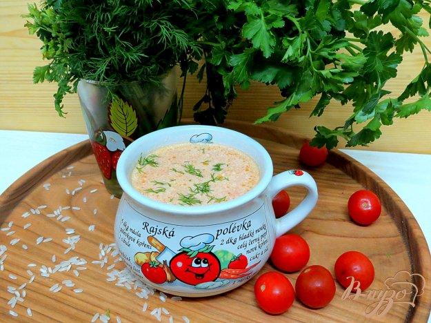 фото рецепта: Польский томатный суп (Zupa pomidorowa)