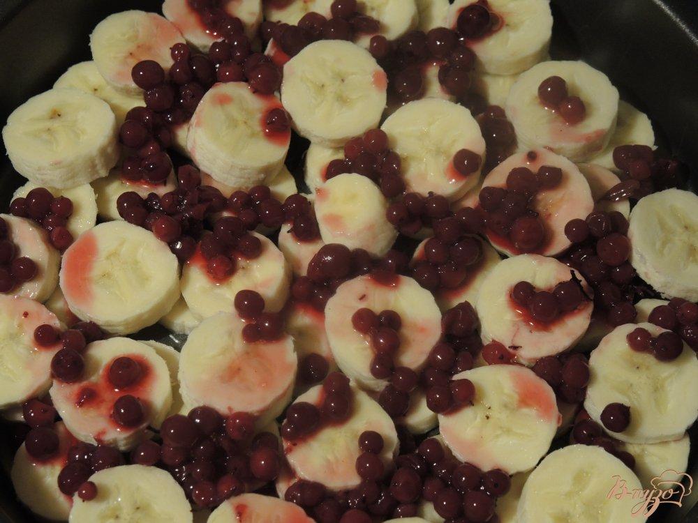 Фото приготовление рецепта: Банановый пудинг шаг №4