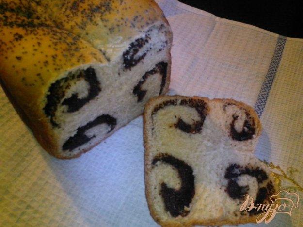 фото рецепта: Сдоба с маком в хлебопечке
