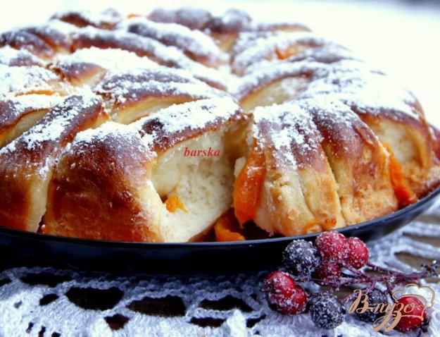 фото рецепта: Пирог с персиками