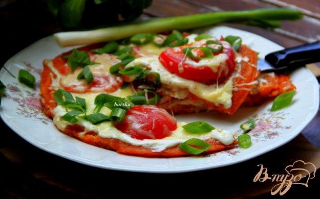 фото рецепта: Томатная лепешка-пицца