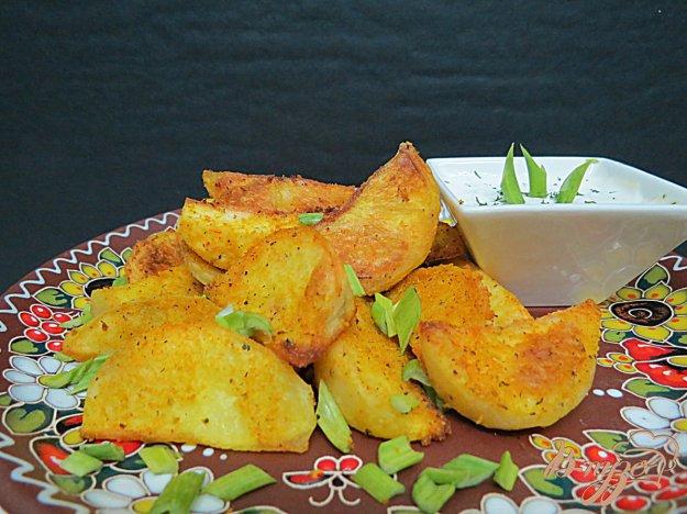 фото рецепта: Хрустящие картофельные дольки