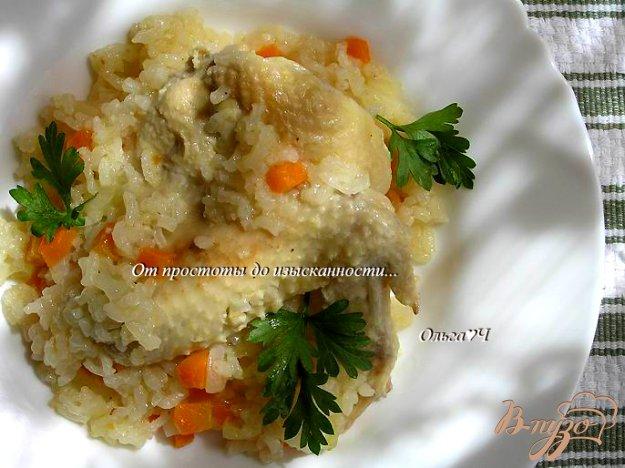 фото рецепта: Курица с рисом (в мультиварке)