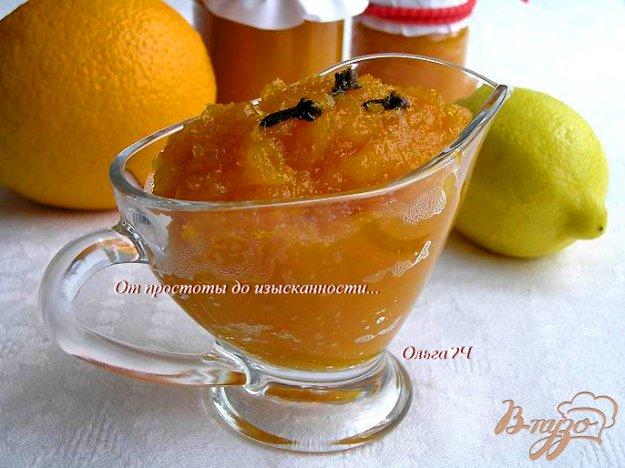 фото рецепта: Тыквенно-апельсиновый джем (в мульти)