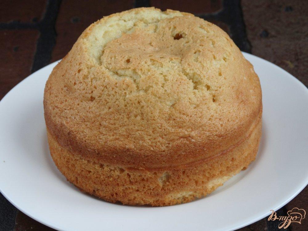ванильный бисквит рецепт с фото пошагово