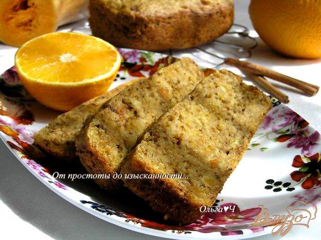фото рецепта: Пряный тыквенно-апельсиновый кекс