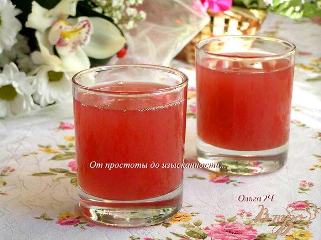 фото рецепта: Мятный вишневый кисель