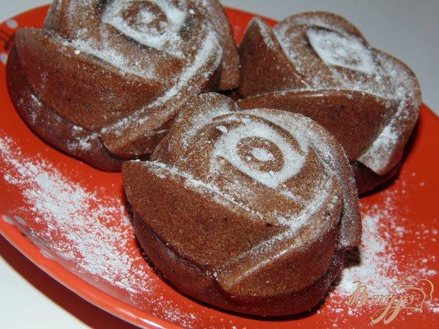 фото рецепта: Шоколадные кексы на растительном масле
